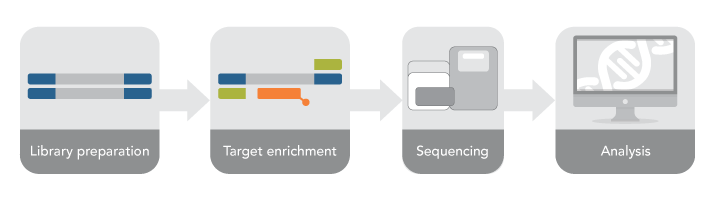 IDT-Illumina exome sequencing workflow