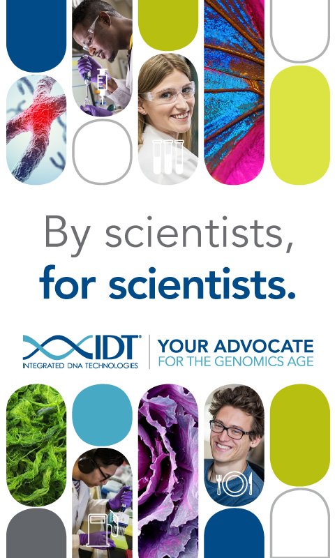 By scientists, for scientists. Integrated DNA Technologies