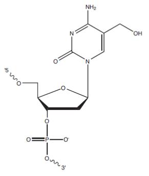 FOF - 5-Hydroxymethyl-dC_structure