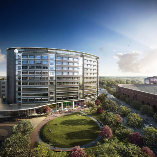 Rendering of the new University of Iowa Children's Hospital