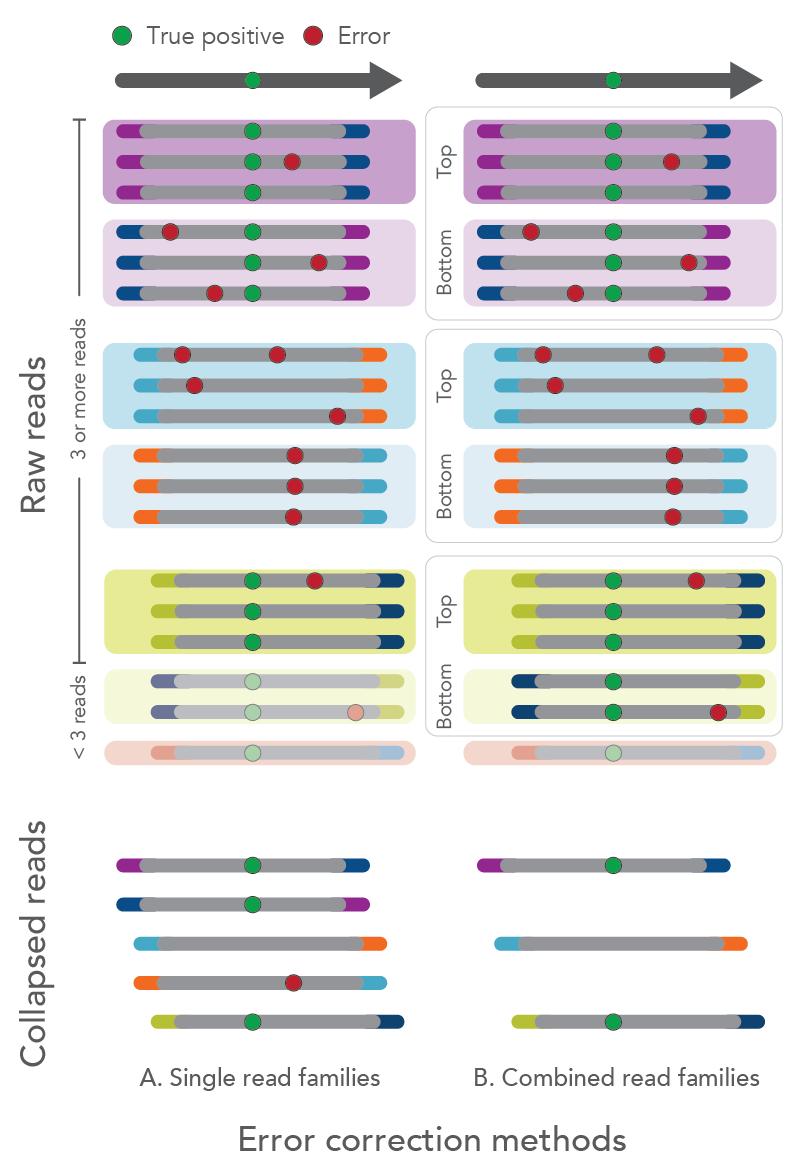 xGen Prism error correction methods